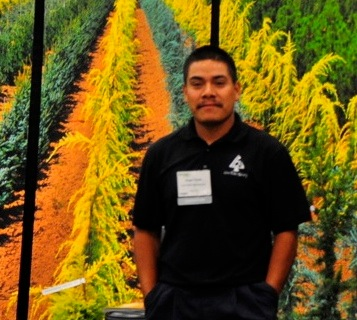 Nursery Manager, Angel Perez